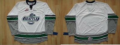 CHL Eishockey Premier Trikot Jersey SEATTLE THUNDERBIRDS White WHL Canadiens Jr.