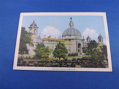 Cne Postcard National Industries Building Canadian National Exhibition Toronto