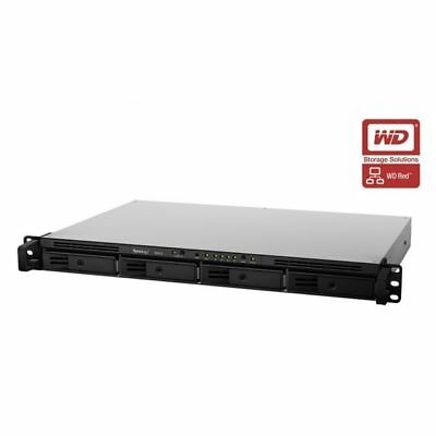 Synology RackStation RX415 8TB (4 x 2TB) 4-Bay NAS Server Expansion Unit with WD