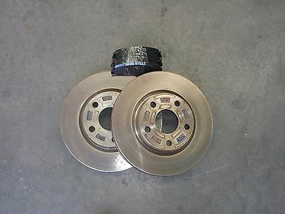 NEW genuine commodore VE V6 front brake disc rotors and  brake pads