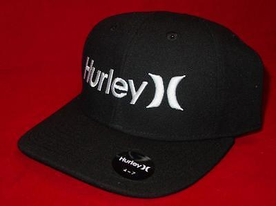 New Licensed  Hurley One & Only MIDNIGHT BLACK Youth Size Adjustable Hat __B90