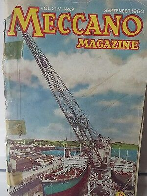 vintage Meccano magazine September 1960