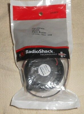 Radio Shack High Intensity 12 Vdc Piezo Buzzer 273-0057