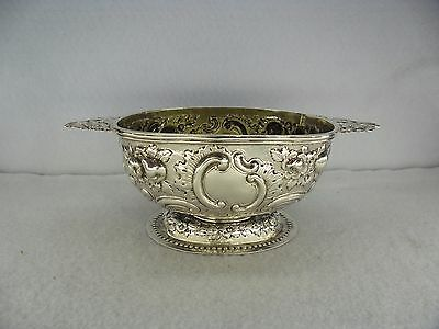 Quality Victorian Sterling Solid Silver Sweet Dish, London 1882