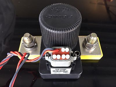 Gigavac GX16BE Contactor / Battery Switch 600+ Volts 12v w/Connector *MAKE OFFER