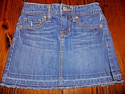Girls size 7 Old Navy Denim Skirt Adjustable Waist in EUC!  Nice!