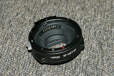 Newest Version Kipon Auto Focus AF Adapter for Canon EF Mount to Micro 4/3