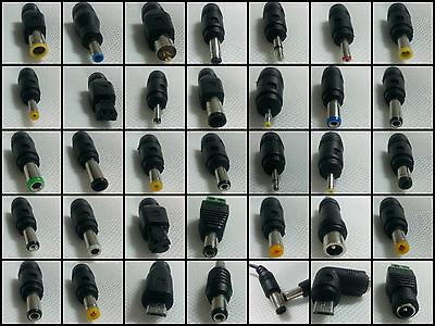 Lots 5.5mm x 2.1 mm dc adapter plug 4 pin toshiba 7.9 7.4 5.0 dell 3 pin 3.0 1.1