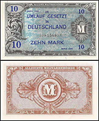 Germany 10 Mark, 1944, P-194a, UNC