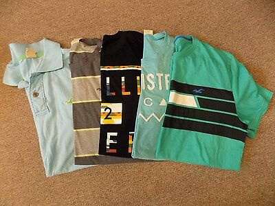 Lot of men's Hollister shirts-size large