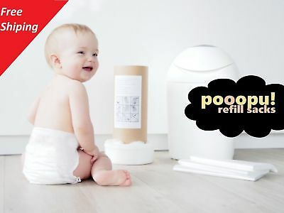 "Pooopu! refill sacks for ""Sangenic"" nappy bin's"