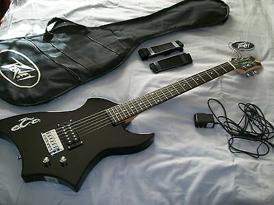 PEAVEY ORANGE COUNTY CHOPPER ELECTRIC GUITAR with CASE