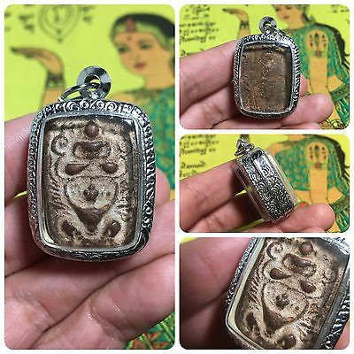 Beautiful Thai Buddha Amulet Talisman Pendant Luck Rich Attracted Protected 5