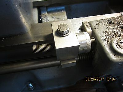"""Micrometer Carriage Stop For Craftsman Atlas 10"""" 12"""" Lathe"""