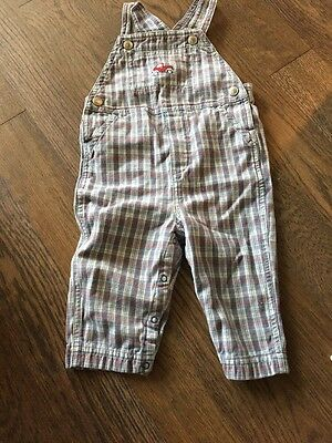 Gymboree Overalls Baby Infant Boy Size 6-12 Months