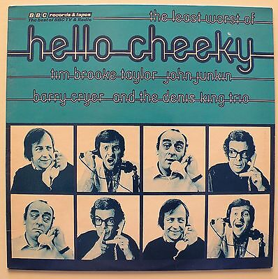 The Least Worst Of Hello Cheeky (BBC Records ‎REH 189) Vinyl LP - NM/EX