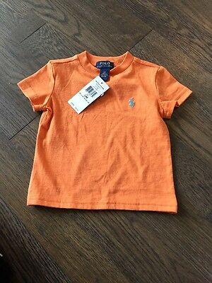 Polo Ralph Lauren Polo Baby Boy Shirt Tee 12 Months NWT New