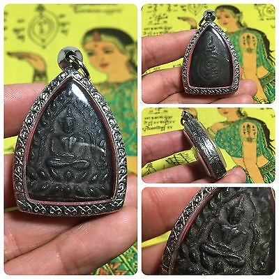 Beautiful Thai Buddha Amulet Talisman Pendant Luck Rich Attracted Protected 11