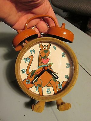 Scooby Doo Hanna Barbera fuzzy boy girl children clock dog cartoon