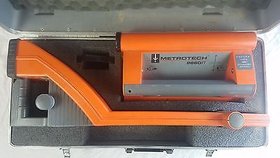Metrotech 9800XT Receiver & 9860XT Rechargeable Transmitter
