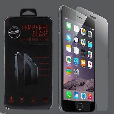 10x Wholesale Lot of 10 Tempered Glass Screen Protector for Samsung Galaxy S5=4