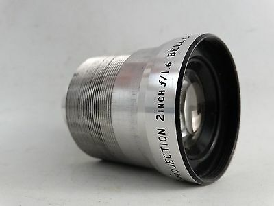 Vintage Bell & Howell 16mm Projection Lens 2 inch f/1.6 US Made