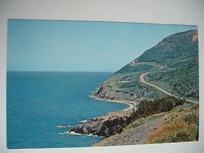 Cabot Trail Canada Cape Breton Highlands National Park Vintage Postcard