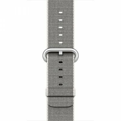 Apple Woven Nylon (42mm) Watch Strap (Pearl) for 42mm Watch Case