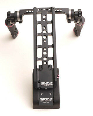 Movcam Dual Handle 19MM Dovetall plate For F55 FS700 F3 Red-one Arri Cage Video