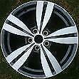 1x Holden Commodore Omega VF SV6 alloy rim wheel mag 18inch LIGHT GREY