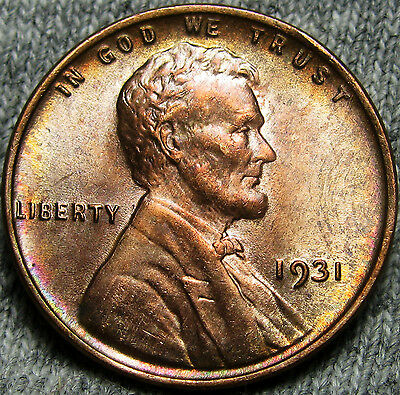 1931 Lincoln Cent Wheat Penny --- GEM BU++ CONDITION ---   #N693