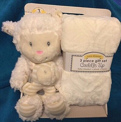 Little Miracles 3 piece Baby Gift Set - **NEW**