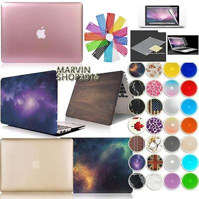 New Frosted Matte Rubberized Hardshell Hard Case Cover For Apple MacBook