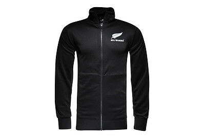 adidas New Zealand All Blacks 2016/17 Essentials Full Zip Rugby Track Jacket