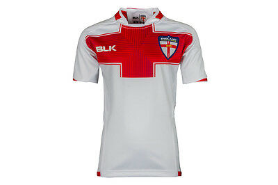 BLK England Rugby League 2016/17 Home Kids S/S Replica Rugby Shirt