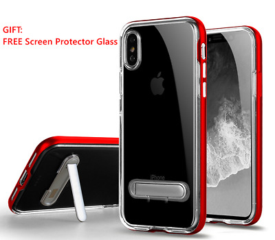 For Apple iPhone X 10 Case Crystal Clear Bumper Silicone Gel Soft Cover