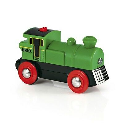 BRIO 33595 Speedy Green Batterielok         vorm.#33222 33595 Speedy Green Batte