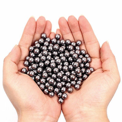 200PCS Carbon Steel Balls Hunting Slingshot Catapult Replacement Ammo Games 8mm