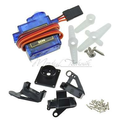 9g SG90 Micro Servo Motor RC Robot Arm Helicopter Airplane Remote Control New