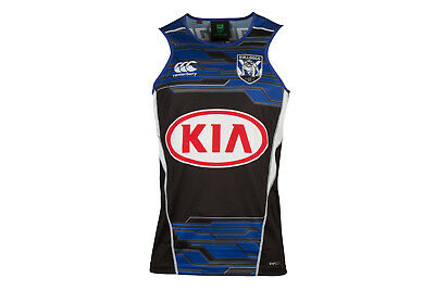 Canterbury Mens Bulldogs NRL 2017 Players Rugby Training Singlet