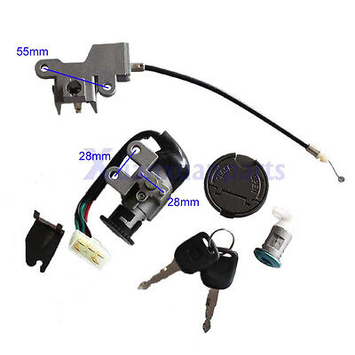 GY6 Ignition Key Switch Lock Set For Scooter Moped GY6 50cc 125cc 139QMB 1P39QMB