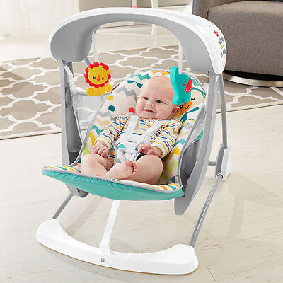 Fisher-Price Colourful Carnival Take Along Swing & Seat (DPV46)