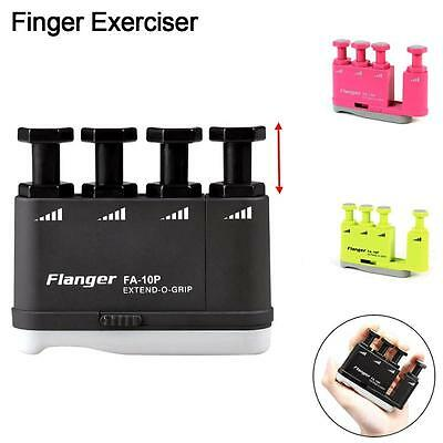 Guitar Bass Piano Hand Finger Exerciser Trainer Medium Tension Grip Training BO