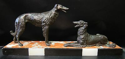 Art Deco Russian Wolfhounds