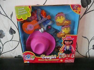 Bnib Dora The Explorer Dress Up Cowgirl Holiday Outfit Living Room Furniture Set