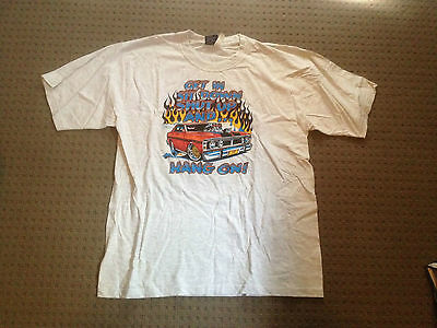 Ford Falcon 351 GT Muscle Car T-shirt Get In Sit Down Shut Up and Hang On XW XY