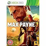 Max Payne 3 Xbox 360 - Brand New and Sealed