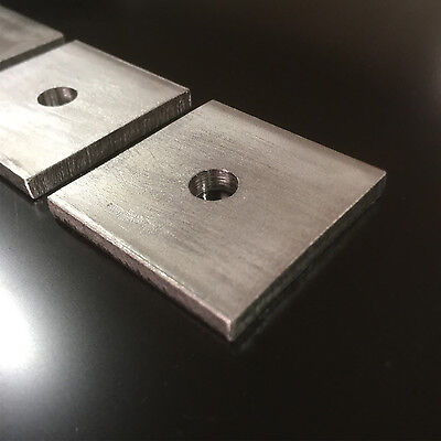 THICK SQUARE PLATE WASHERS A4 STAINLESS STEEL Marine Grade VARIOUS SIZE OPTIONS