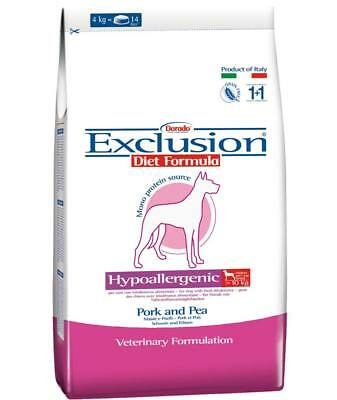 Exclusion Diet Hypoallergenic maiale e piselli Medium/Large Breed per cani
