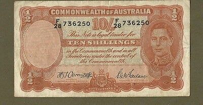 Australia Commonwealth of Australia 10 shillings #6250
